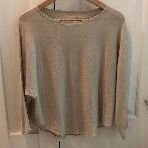 Zadig & Voltaire cream Cashmere sweater